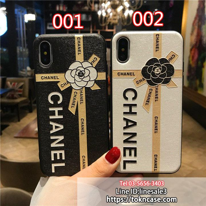 chanel iphone8plusケース チェーン