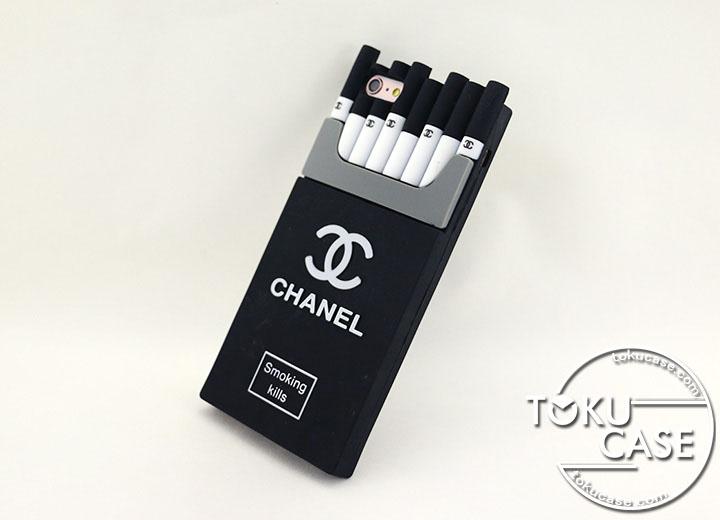 シャネル タバコ型 iphone8ケース パロディ風