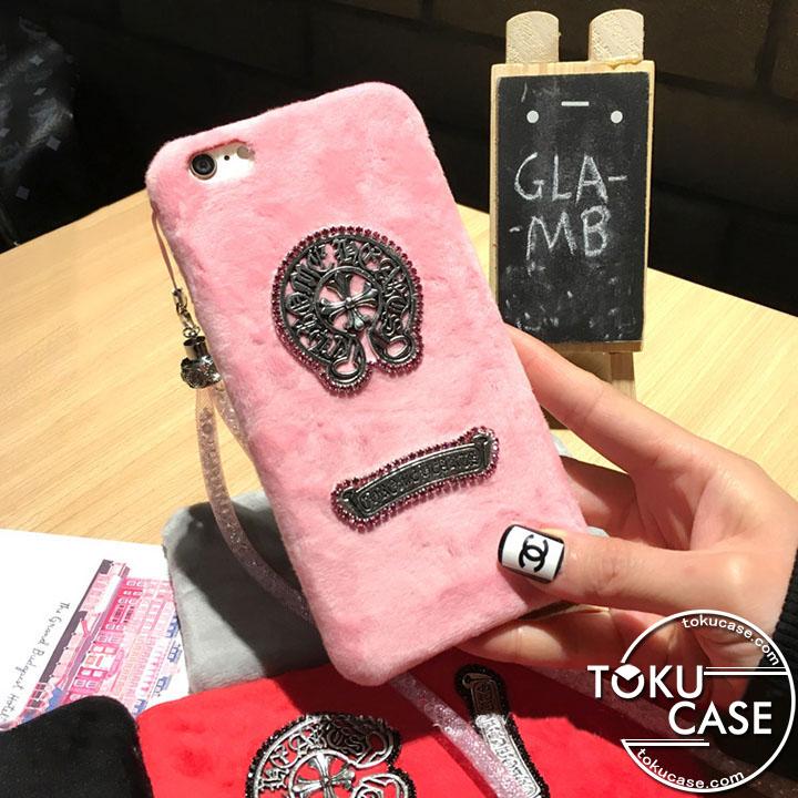 クロムハーツ iPhoneケース ピンク おしゃれ
