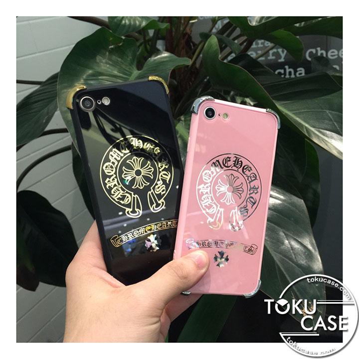 iPhone7 ケース 鏡面 クロムハーツ