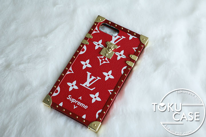 lv supreme iphone8/7ケース