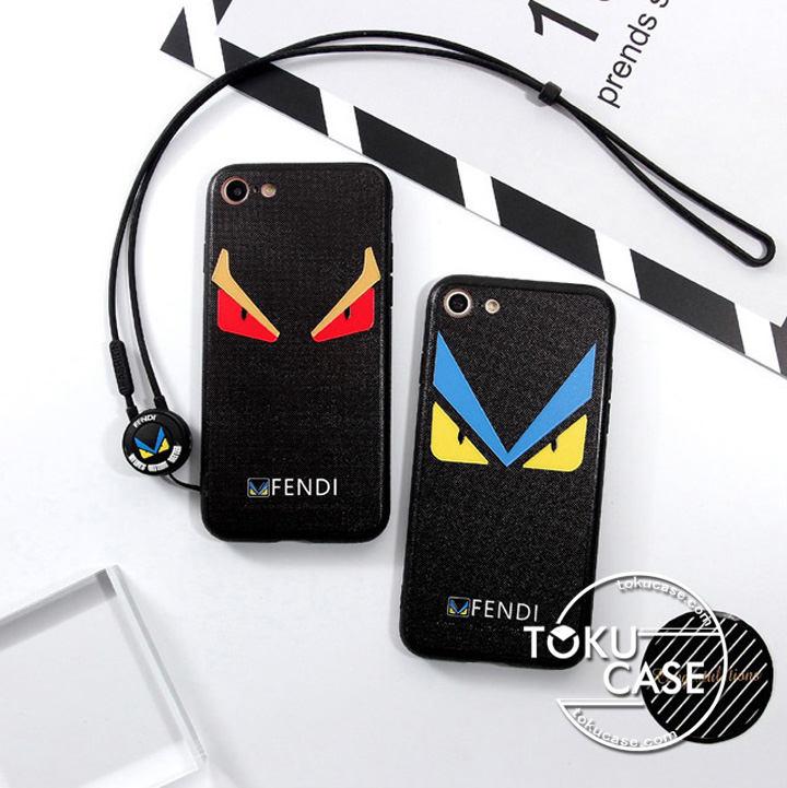 フェンデイ パロディ iphone8/7ケース ペア