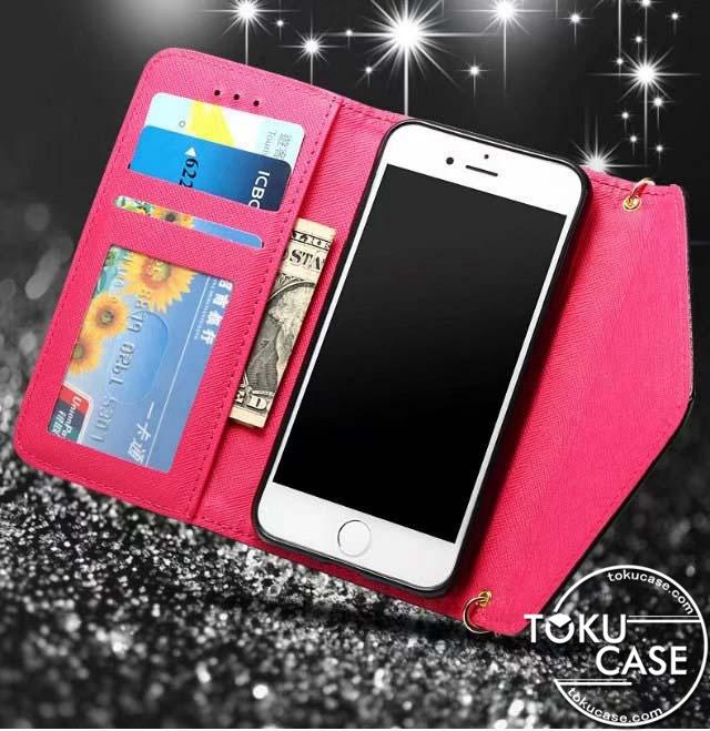 YSL iphone7手帳ケース 三つ折り