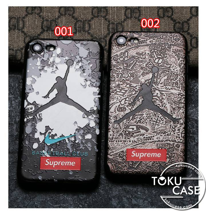 SUPREME x NIKE AIR JORDAN iphone7ケース