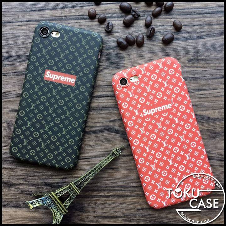 lv supreme iphone Xケース