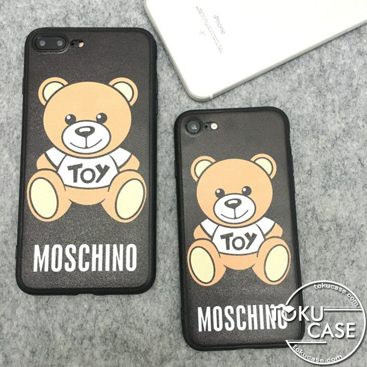 Moschino iphone8ケース くま