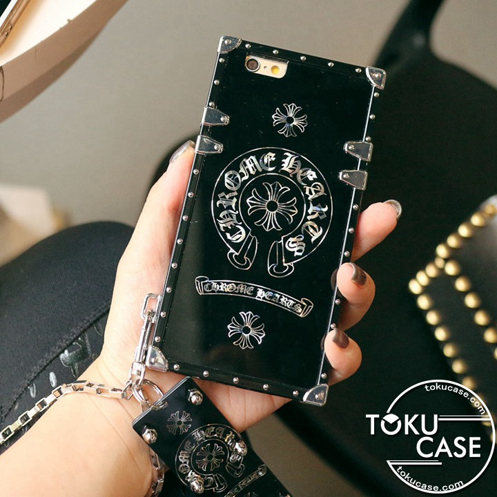 CHROME HEARTS iphone12 miniカバー トランク作り