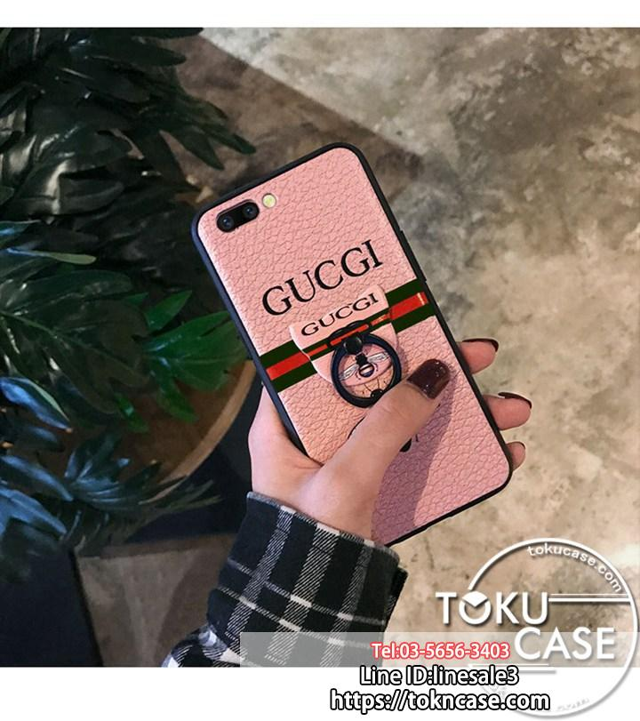 gucci iphone8plus ケース リング