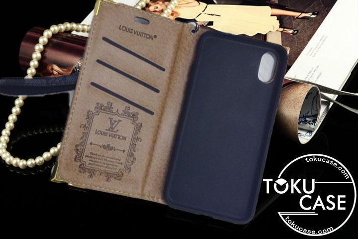 ヴィトン iphone8 ケース 手帳型 レザー