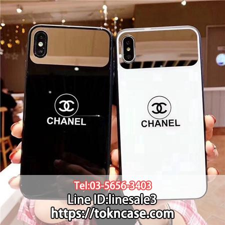 CHANEL iPhoneXS Max ケース ガラス