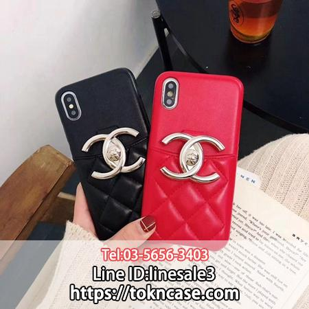 CHANEL iPhoneXS Max ケース ICカード入れ