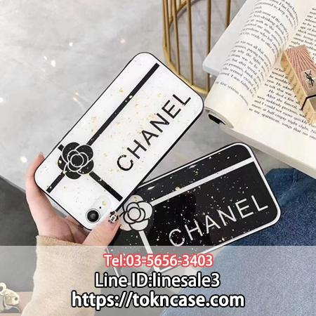 CHANEL iPhoneXS Max カバー カメリア