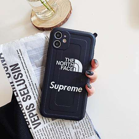 Supreme iPhone12ケース 黒