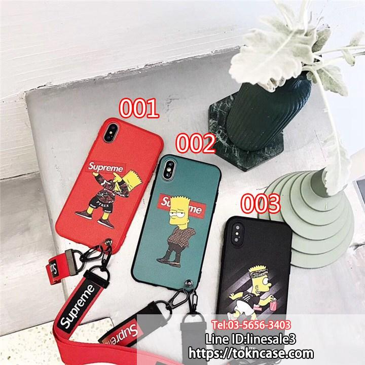 Supreme Simpsons iphonexケース