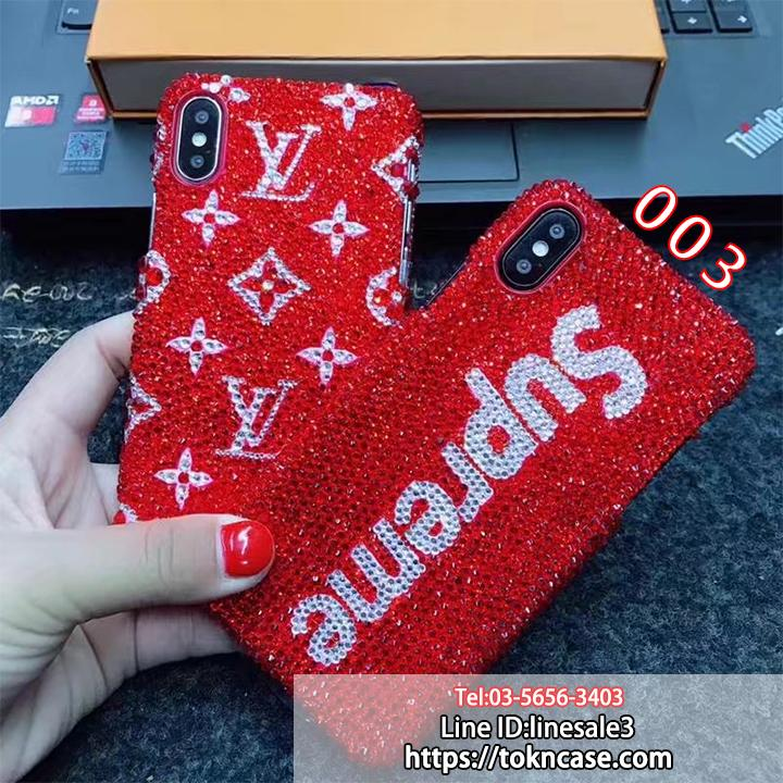 LV SUPREME iphone8ケース デコ