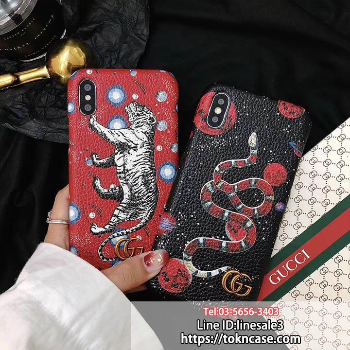 GUCCI iPhonex ケース 背面 パロディ