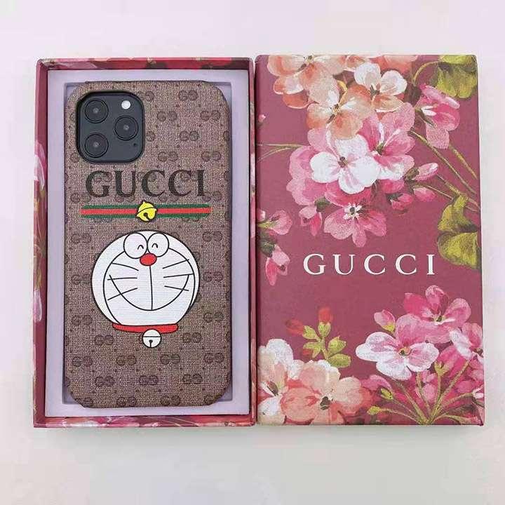 Gucci スマホケース ドラえもん アイフォーン12 mini/12 pro max