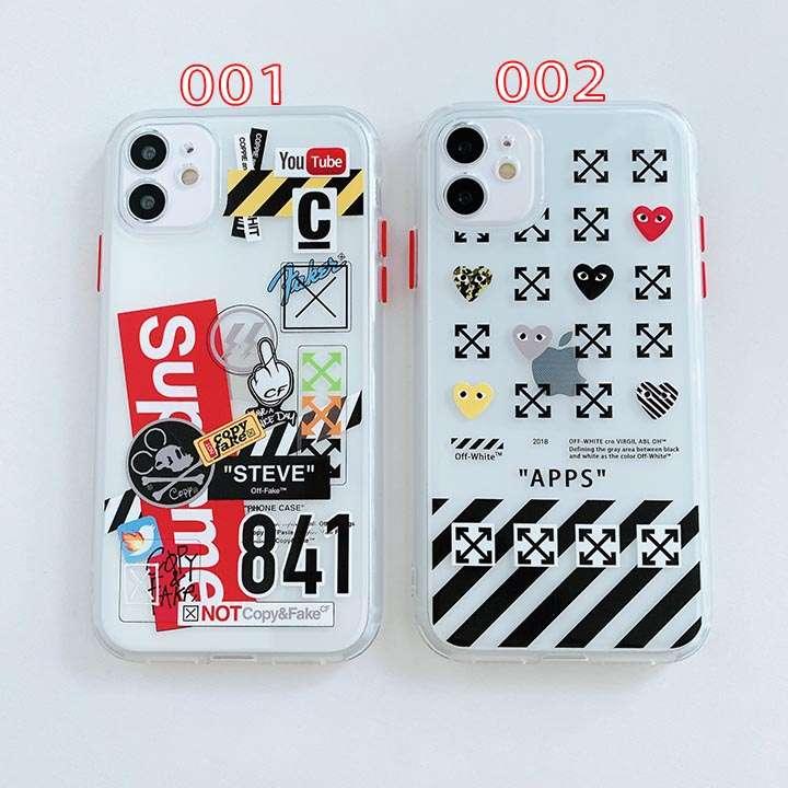 豪華iphone12カバーオフホワイト