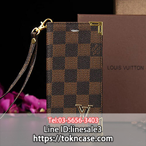 LV iPhone Xケース 手帳型