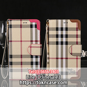 Burberry iPhone7plusケース 手帳型