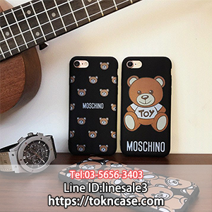 MOSCHINO iphone7ケース くま